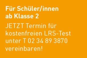 Termine für LRS-Test wieder möglich